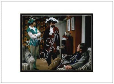 The Likely Lads Autograph Signed Photo