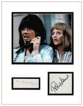 The Liver Birds Autograph Signed Display - Hughes & James