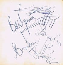 The Rolling Stones Autograph Signed