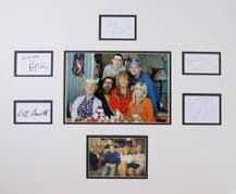 The Royle Family Autograph Signed Cast Display