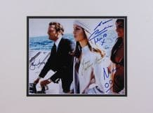 The Spy Who Loved Me Cast Autograph Signed Photo