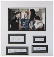 The Young Ones Autograph Signed Display