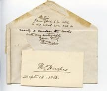 Thomas Hughes Autograph Note Signed