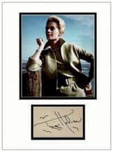 Tippi Hedren Autograph Signed - The Birds