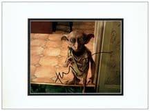 Toby Jones Autograph Signed Photo - Harry Potter
