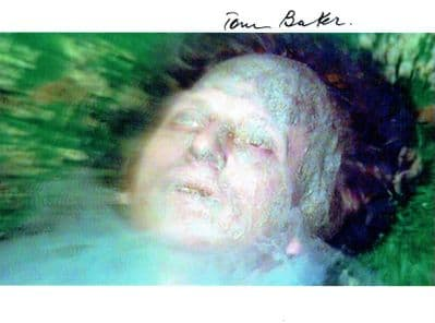 Tom Baker Autograph Photo - Doctor Who