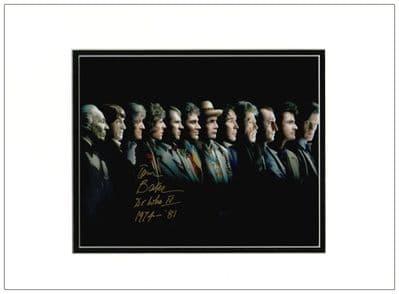 Tom Baker Autograph Signed Photo