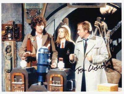 Tom Chadbon Autograph Signed Doctor Who