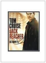 Tom Cruise Autograph Photo Signed