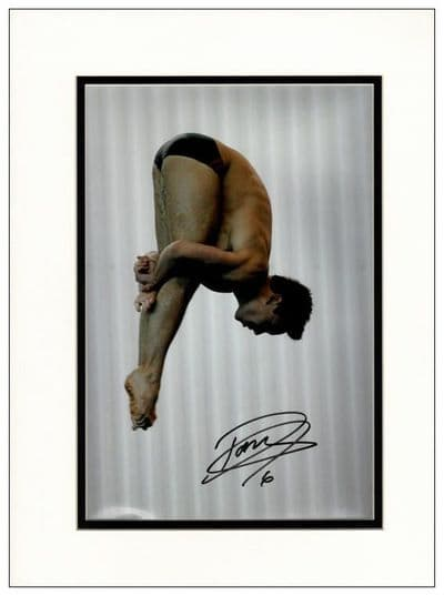 Tom Daley Autograph Photo - Olympic Champion