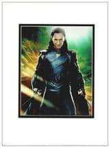 Tom Hiddleston Autograph Signed Photo - Loki