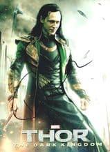 Tom Hiddleston Autograph Signed Photo - Thor: The Dark World