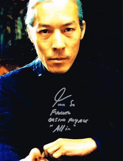 Tom So Autograph Signed Photo - Casino Royale