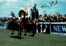 Tommy Stack Autograph Signed Photo - Red Rum