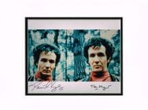 Tony and David Meyer Autograph Signed Photo - Octopussy