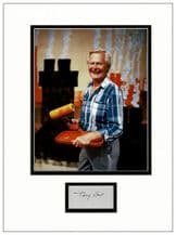 Tony Hart Autograph Signed Display