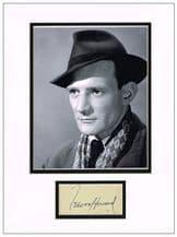 Trevor Howard Autograph Signed