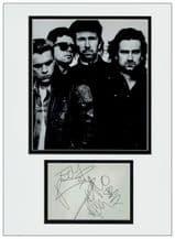 U2 Autograph Signed Display