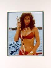 Valerie Leon Autograph Signed Photo - James Bond
