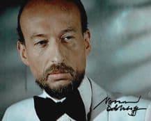 Vernon Dobtcheff Autograph Signed Photo - The Spy Who Loved Me