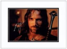 Viggo Mortensen Autograph Lord Of The Rings Signed