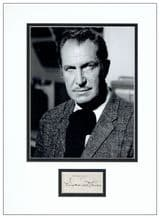 Vincent Price Autograph Signed Display