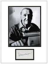 W. Somerset Maugham Autograph Display