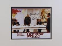 Walter Gotell Autograph Signed Photo - James Bond