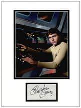 Walter Koenig Autograph Signed Display - Star Trek
