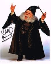 Warwick Davis Autograph Photo - Harry Potter