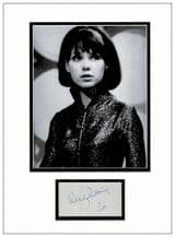 Wendy Padbury Autograph Signed Display - Dr Who