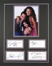 Will & Grace Autograph Signed Display