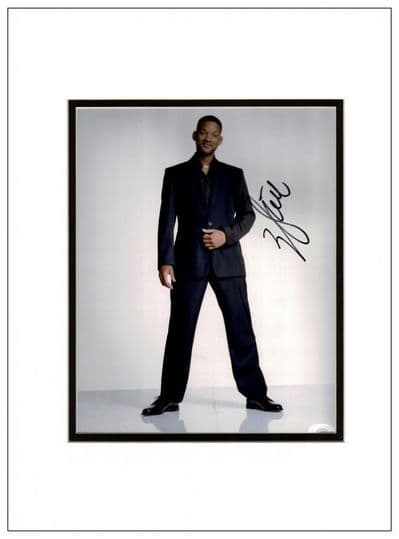 Will Smith Autograph Signed Photo