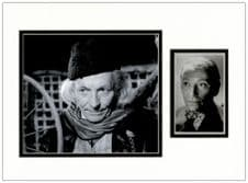 William Hartnell Autograph Signed Photo Display