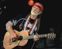 Willie Nelson Autograph Photo