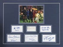 Willy Wonka and the Chocolate Factory  Cast Autograph Display