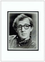 Woody Allen Autograph Signed Photo