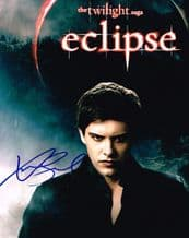 Xavier Samuel Autograph Signed Photo - The Twilight Saga: Eclipse