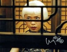 Yennis Cheung Autograph Signed Photo - Skyfall