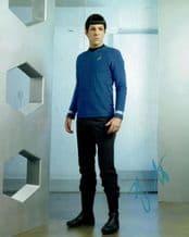 Zachary Quinto Autograph Signed Photo - Star Trek