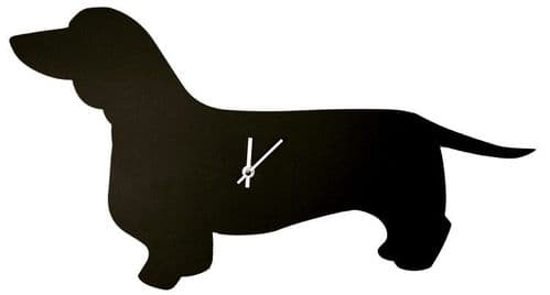 A  Dachshund Clock with a Tail that Wags