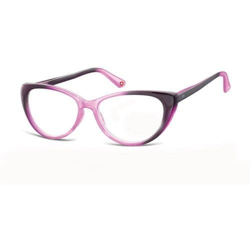 Cats Eye Two Tone Reading Glasses