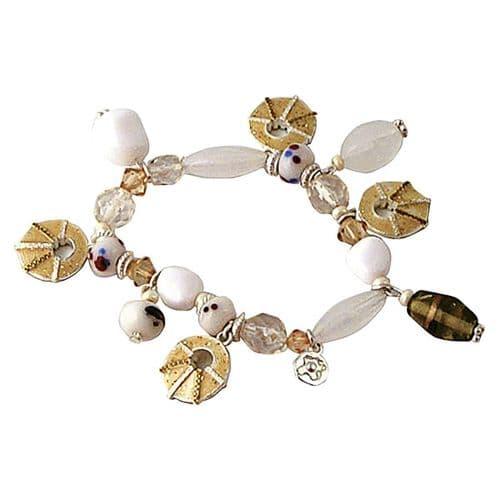 Enamel Cobweb Bracelet