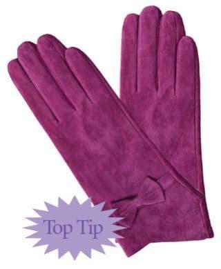Flirty Suede Gloves