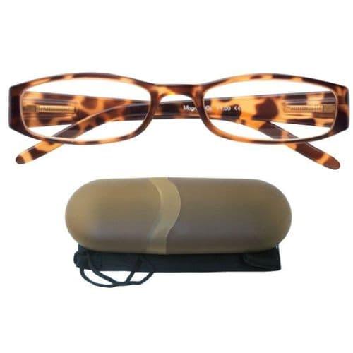 Golden Eye Reading Glasses Classic Tortoiseshell