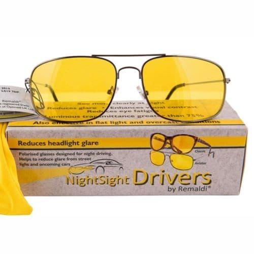 Nightsight Drivers Aviator Style