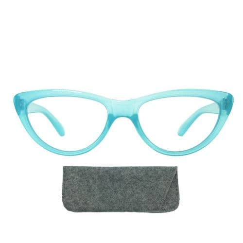 Reading Glasses Boho Blue Eyes