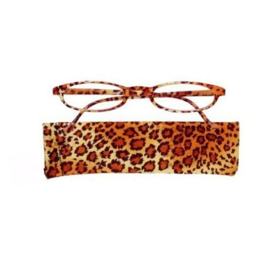 Reading glasses Brown Cheetah