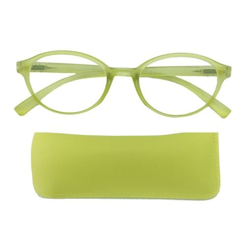 Reading Glasses Bubblegum Lime