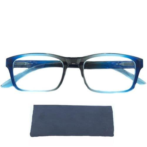 Reading Glasses Glacier, Cool Crisp & Smart